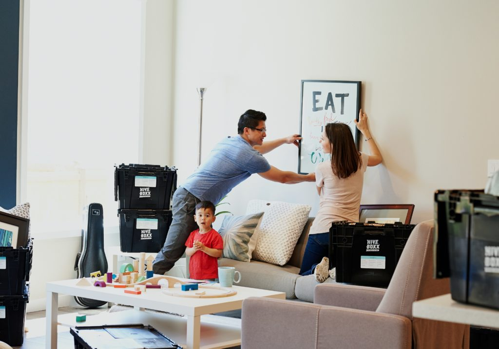 Delaguard Home staging helps you with the move